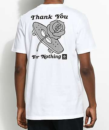 adidas For Nothing camiseta blanca