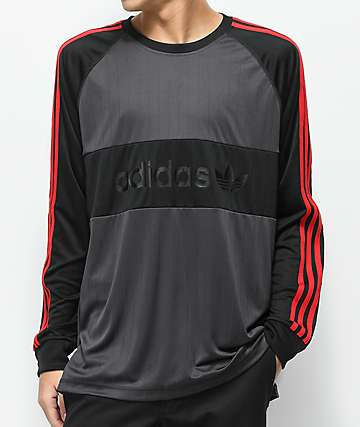 adidas Goalie Black Long Sleeve Jersey