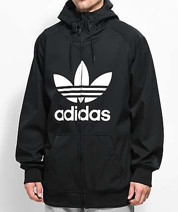 adidas Greeley Black Soft-shell Jacket