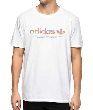 adidas Linear camiseta blanca