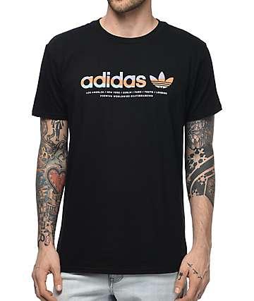 adidas Linear camiseta negra