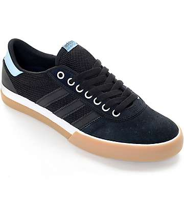 adidas Lucas Premiere ADV Black & Sky Blue Gum Shoes