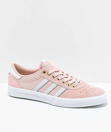 adidas Lucas Premiere Pink & White Shoes