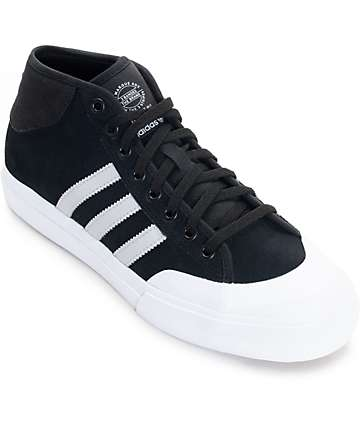 adidas Matchcourt Mid ADV Black, Grey & White Shoes