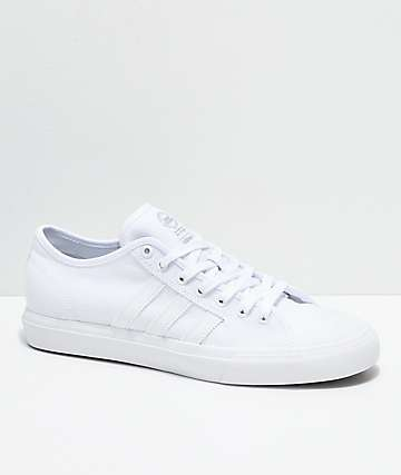 adidas Matchcourt RX All White Canvas Shoes