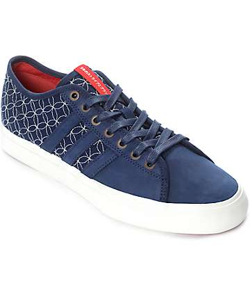 adidas Matchcourt RX LTD Blue, White & Red Shoes