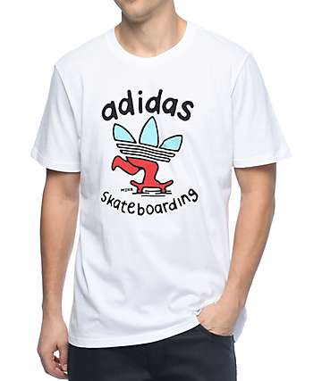 adidas Meka Push White T-Shirt