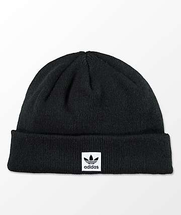 adidas Men Starboard Black Beanie