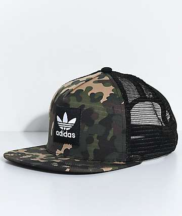 adidas Men's Camo Trucker Hat