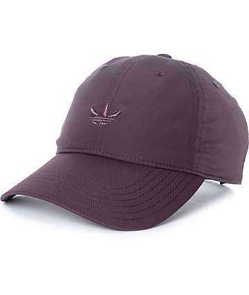 adidas Mono Unstructured Burgundy Baseball Hat