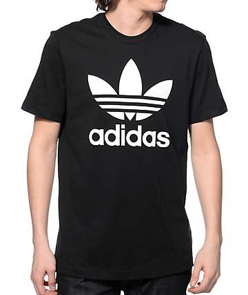 adidas Original Trefoil Black T-Shirt