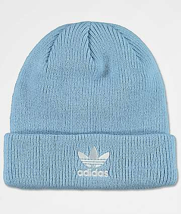 adidas Original Trefoil Clear Sky Womens Beanie
