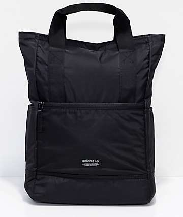 adidas Originals 11 Black Tote Backpack