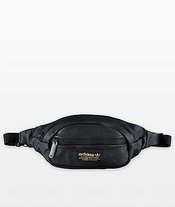 adidas Originals Black & Gold Waist Pack