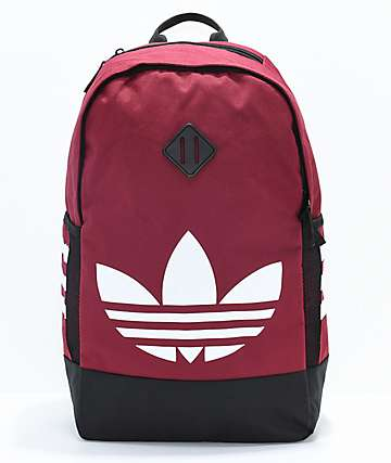 adidas Originals Trefoil Red Backpack