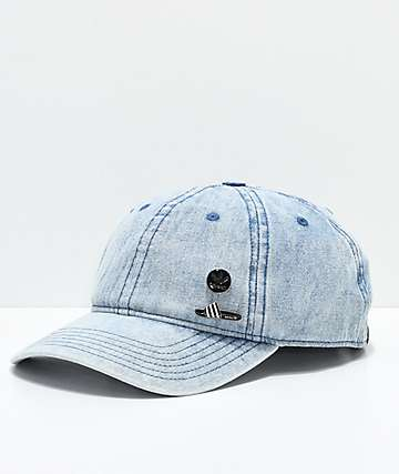 adidas Pin Pack Denim Strapback Hat