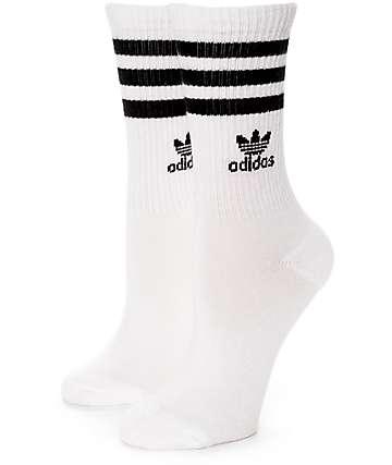adidas Roller White Crew Socks