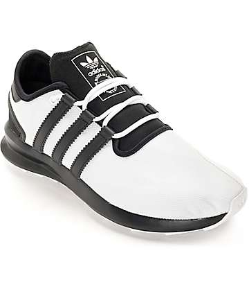 adidas SL Rise Black & White Shoes