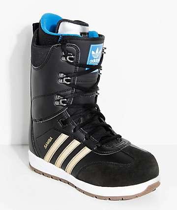 adidas Samba ADV Black Snowboard Boots