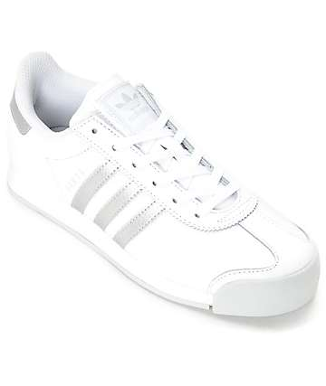 adidas Samoa White & Silver Women's Shoes