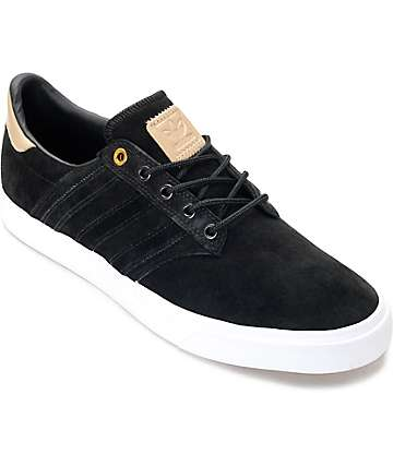adidas Seeley Premium Class zapatos en negro y color natural