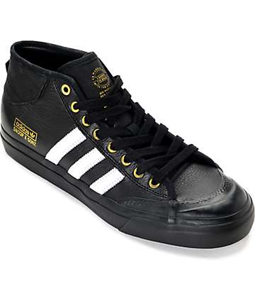 adidas Snoop x Gonz LA Stories Matchcourt Mid Black Shoe