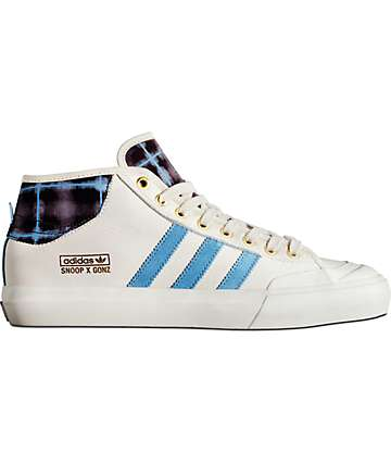 adidas Snoop x Gonz LA Stories Matchcourt Mid White Shoe