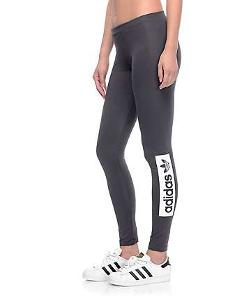 adidas Squaredup Black Leggings