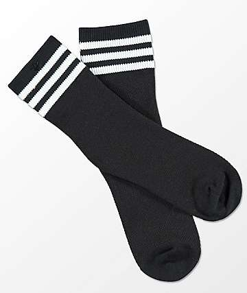 adidas Striped Mesh Black Anklet Socks