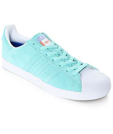 adidas Superstar Vulc ADV Pastel Blue Shoes