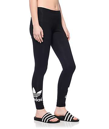 adidas TRF Black Leggings