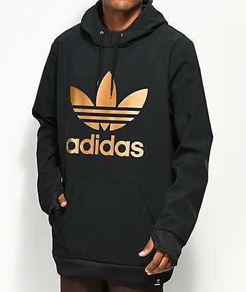 adidas Team Tech Fleece Black Hoodie