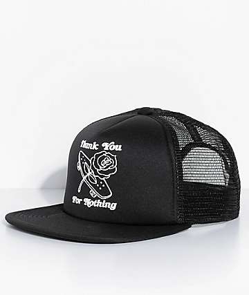 adidas Thanks Black Strapback Hat