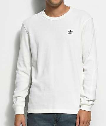 adidas Thermal camiseta blanca de manga larga