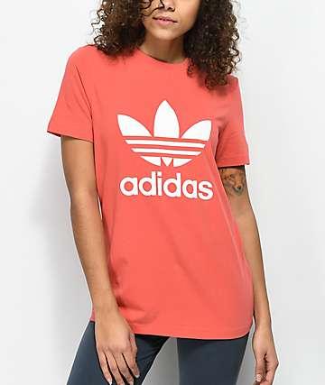 adidas Trefoil Pink T-Shirt