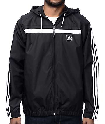 adidas Windbreaker 2 Black Jacket