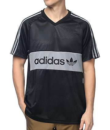 adidas Word Camo jersey negro