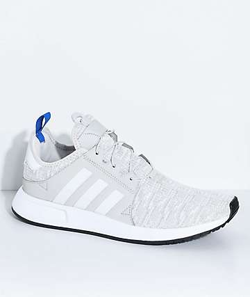 adidas Xplorer Core  Light Grey, Blue and White Shoes