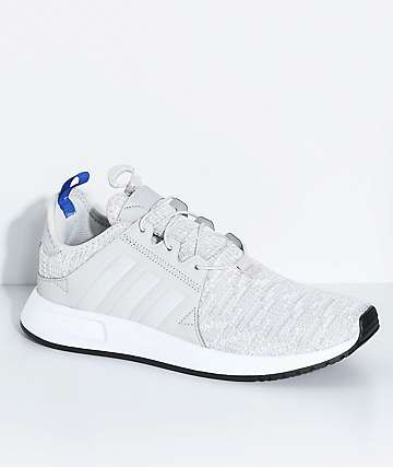 adidas Youth Xplorer Grey, Blue & White Shoes