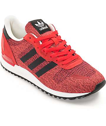 adidas ZX 700 IM Red, Black, & White Shoes