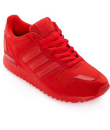 adidas ZX 700 Mono Red Shoes