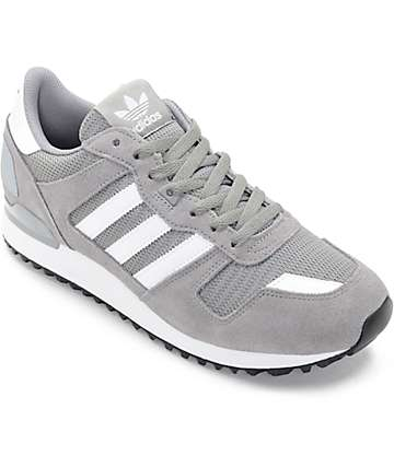 adidas ZX 700 Solid Grey Shoes