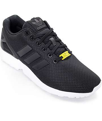 adidas ZX Flux Black & White Shoes