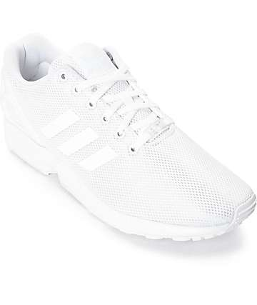 adidas ZX Flux Mono White Shoes