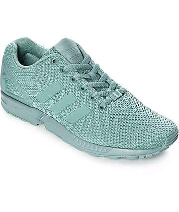 adidas ZX Flux zapatos en verde azulado