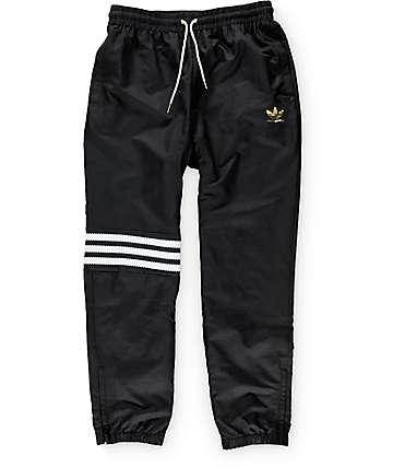 adidas pantalones de baloncesto de negro