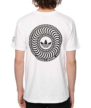 adidas x Spitfire Jake Big Head Swirl T-Shirt