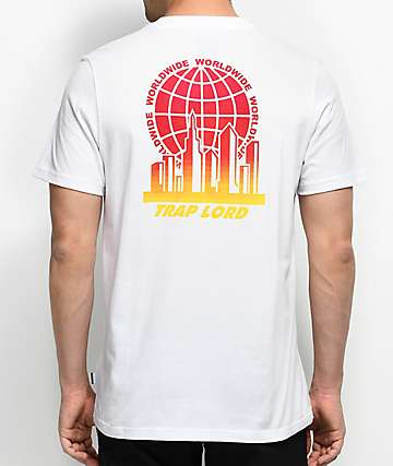 adidas x Trap Lord Ferg White T-Shirt