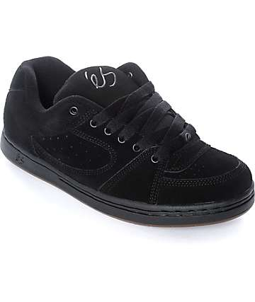 eS Accel OG Black & Gum Skate Shoes