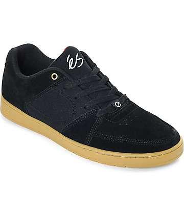 eS Accel Slim zapatos de skate de ante en negro y goma